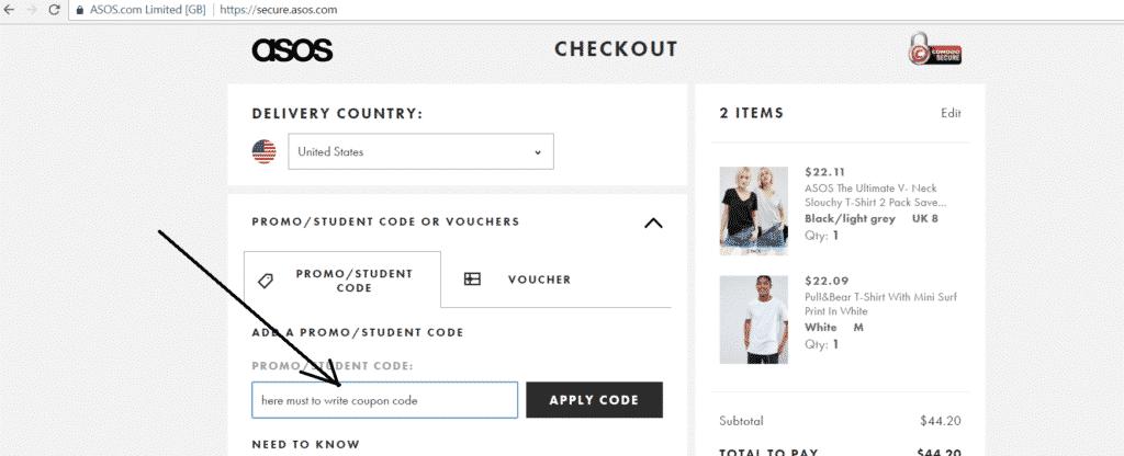 asos australia coupon code 2019