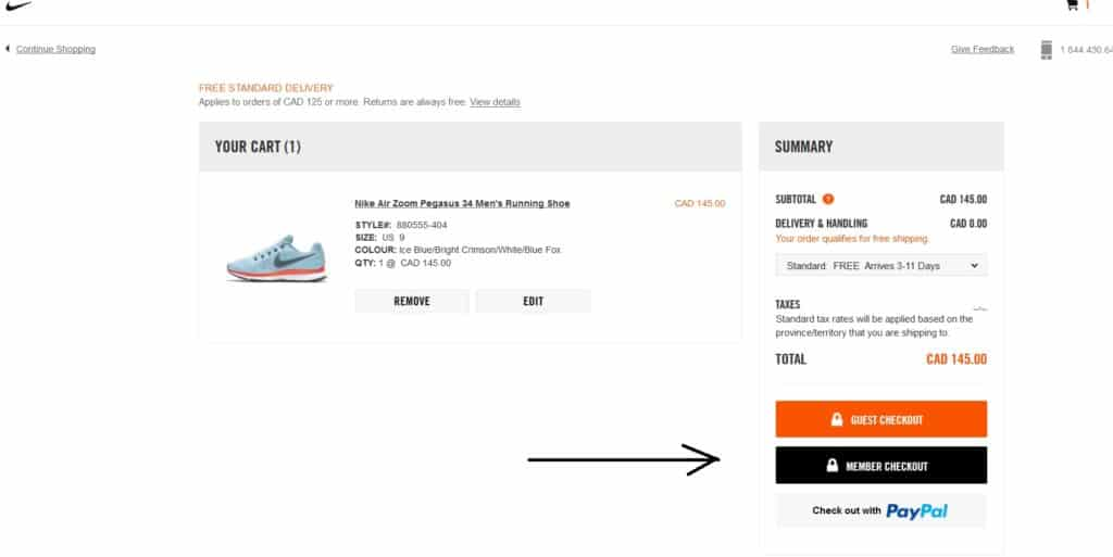 aba017ef658 3. View the shopping cart and choose the method by which the order is  completed  this can be through GUEST CHECKOUT (if you do not want to  register as a ...