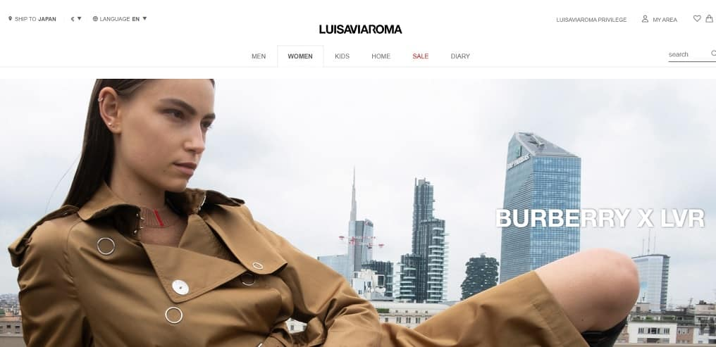 Coupons LUISAVIAROMA