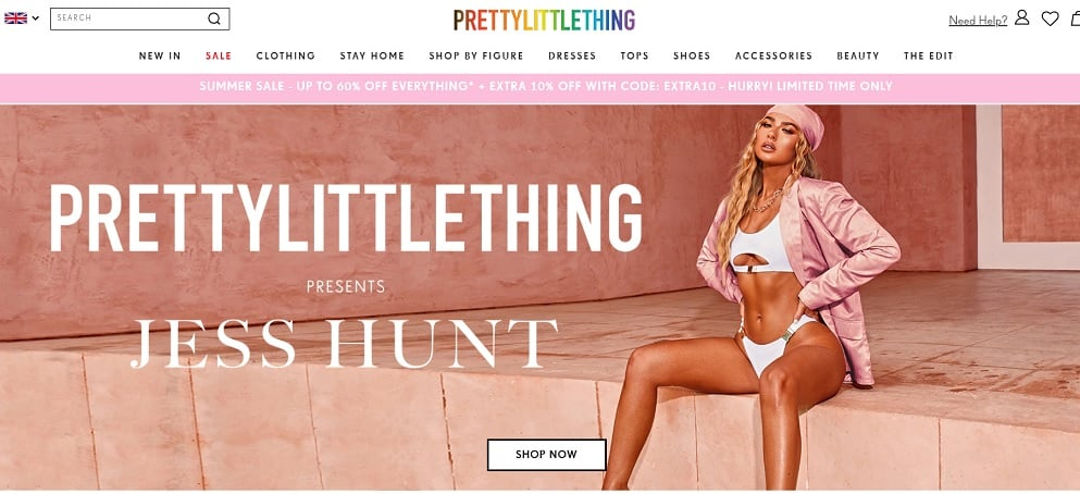 PRETTYLITTLETHING Promo Code