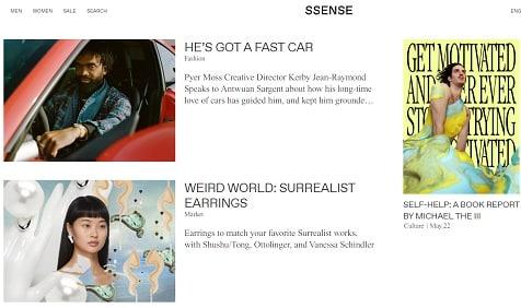 SSENSE-kampagnekode
