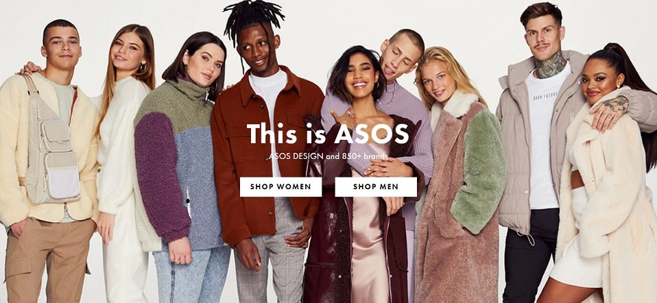 Code promotionnel Asos