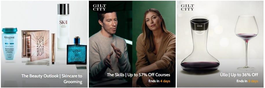 Kód propagačního kupónu GILT